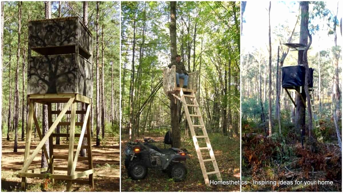 Deer Stand Placement Diagrams 88 Shooting House Plans Elegant 20 Free Diy Deer Stand Plans And