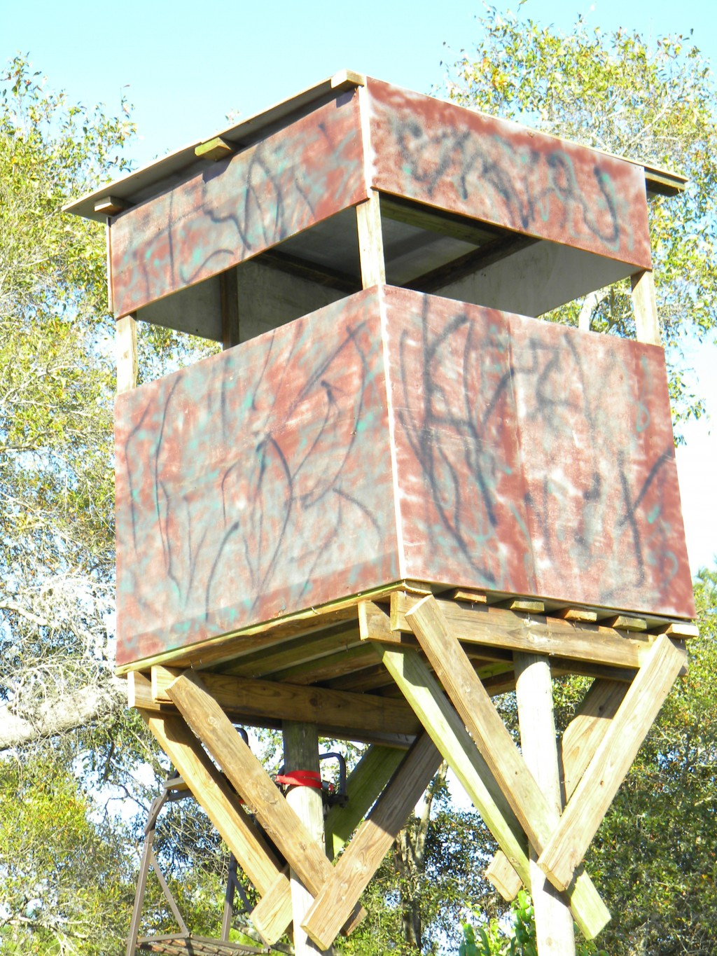 Deer Stand Placement Diagrams How To Build A Free Standing Deer Hunting Blind In The Best Location