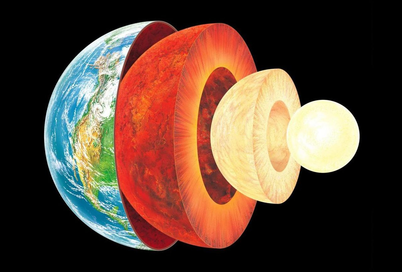 Diagram Of The Earth's Layers Layers Of The Earth What Lies Beneath Earths Crust