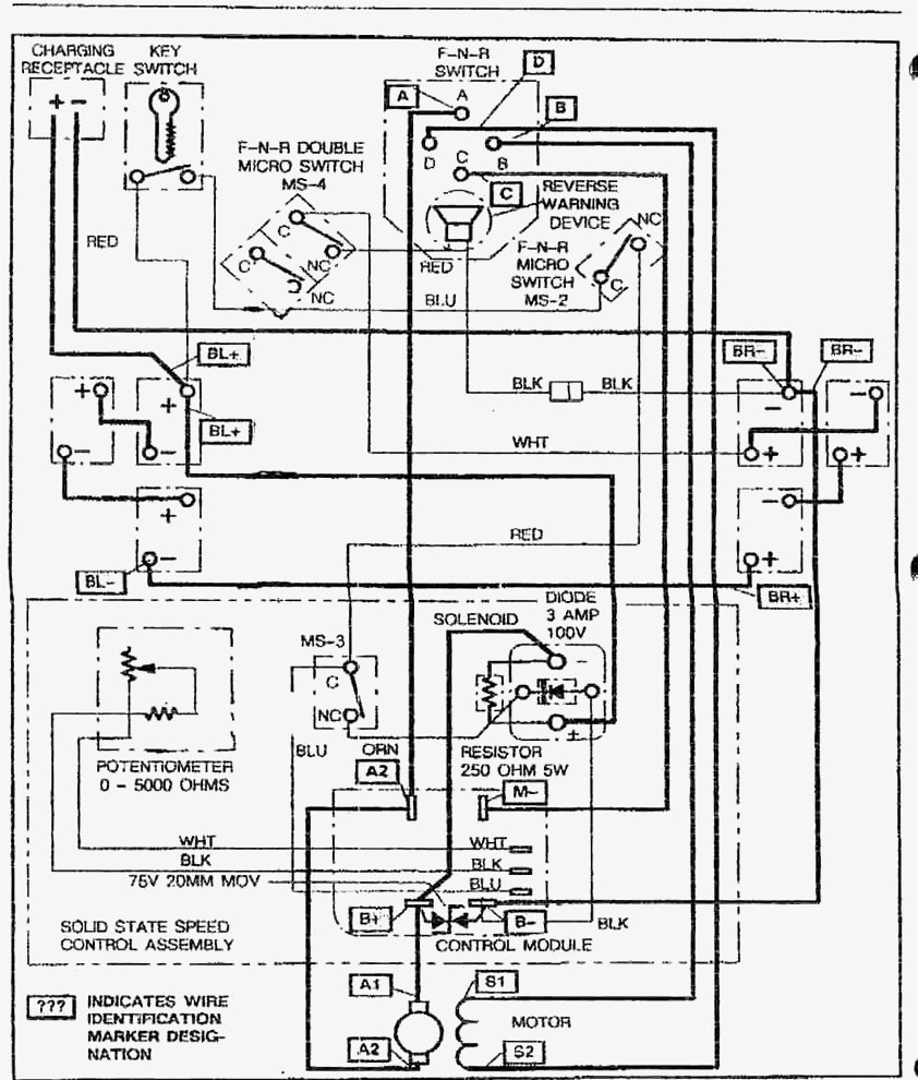 36 Volt Ez Go Gas Golf Cart Wiring Diagram Pdf from exatin.info