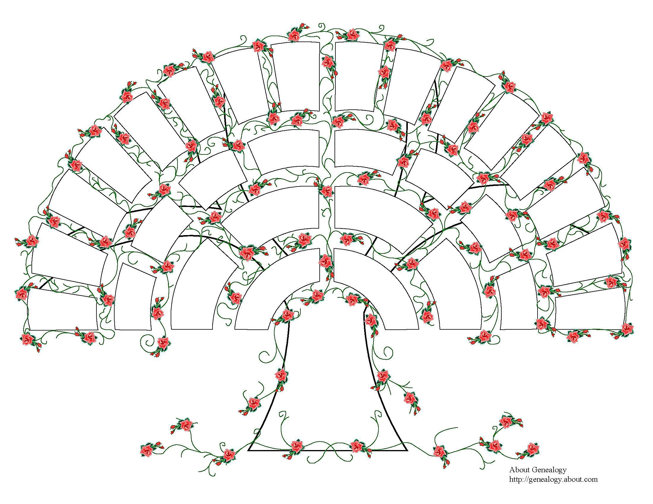 Family Tree Diagram Free Genealogy Charts And Forms