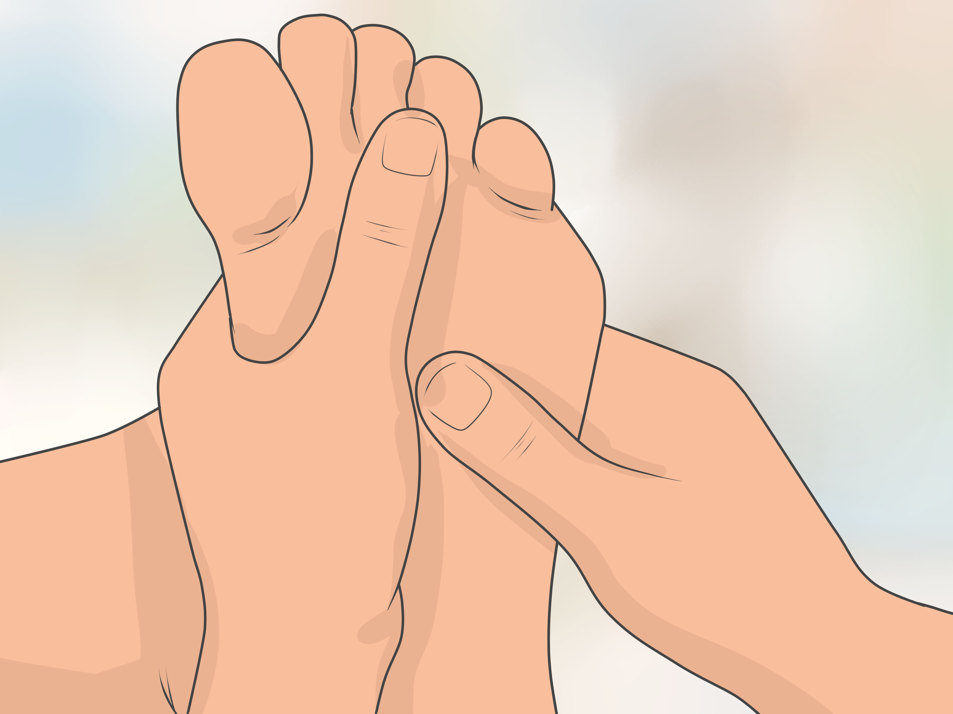 Foot Reflexology Diagram How To Read A Foot Reflexology Chart 10 Steps With Pictures