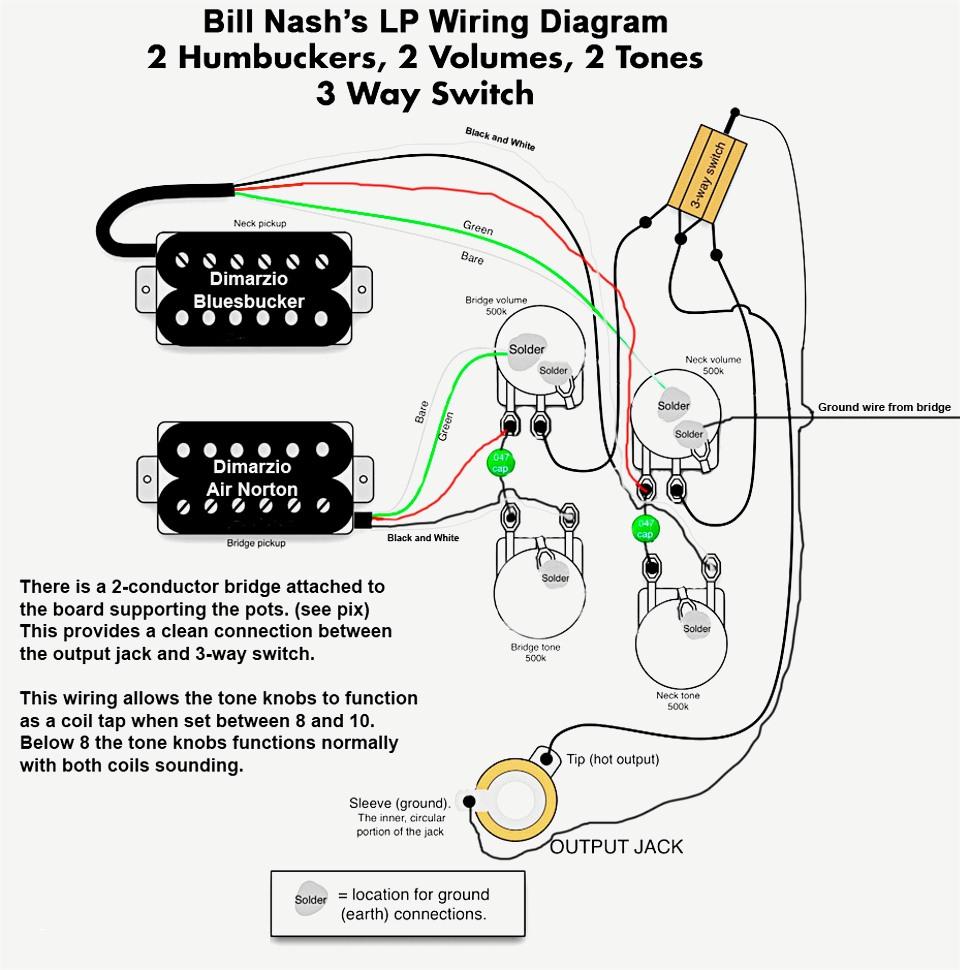 Guitar Wiring Diagrams Wiring Diagram Dimarzio Humbucker Guitar Wiring Diagram Information