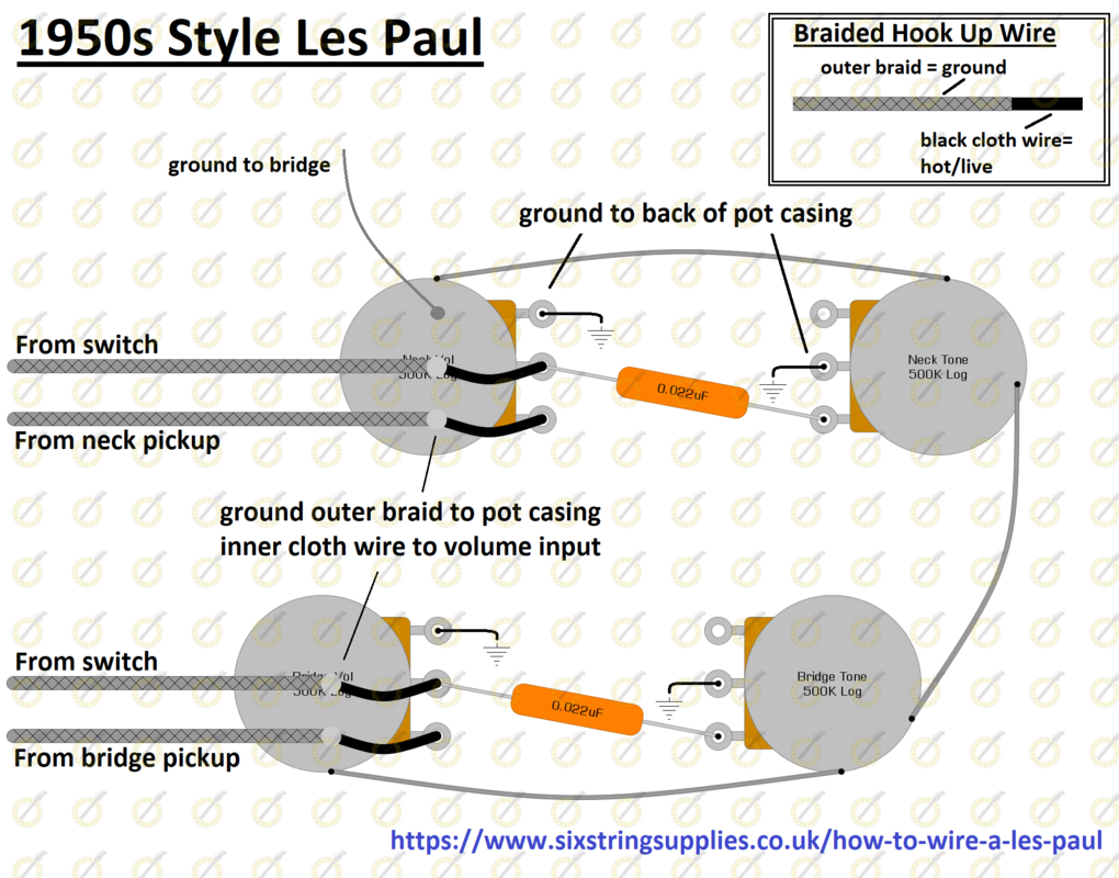 Guitar Wiring Diagrams Wiring Diagram For Gibson Les Paul Guitar Wiring Diagram Directory