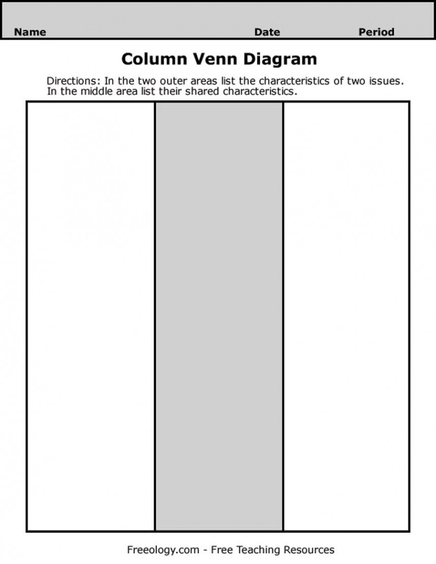 How To Create A Venn Diagram In Word 022 Venn Diagram Template Word Ideas Surprising 3 Circle Free Blank
