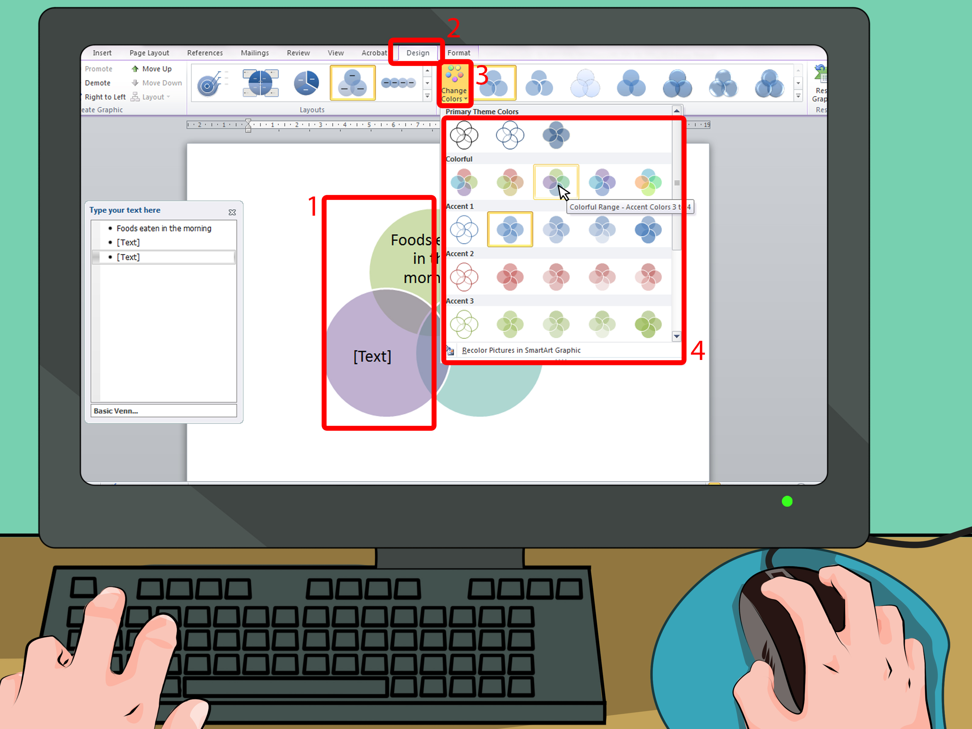 How To Create A Venn Diagram In Word How To Make A Venn Diagram 15 Steps With Pictures Wikihow