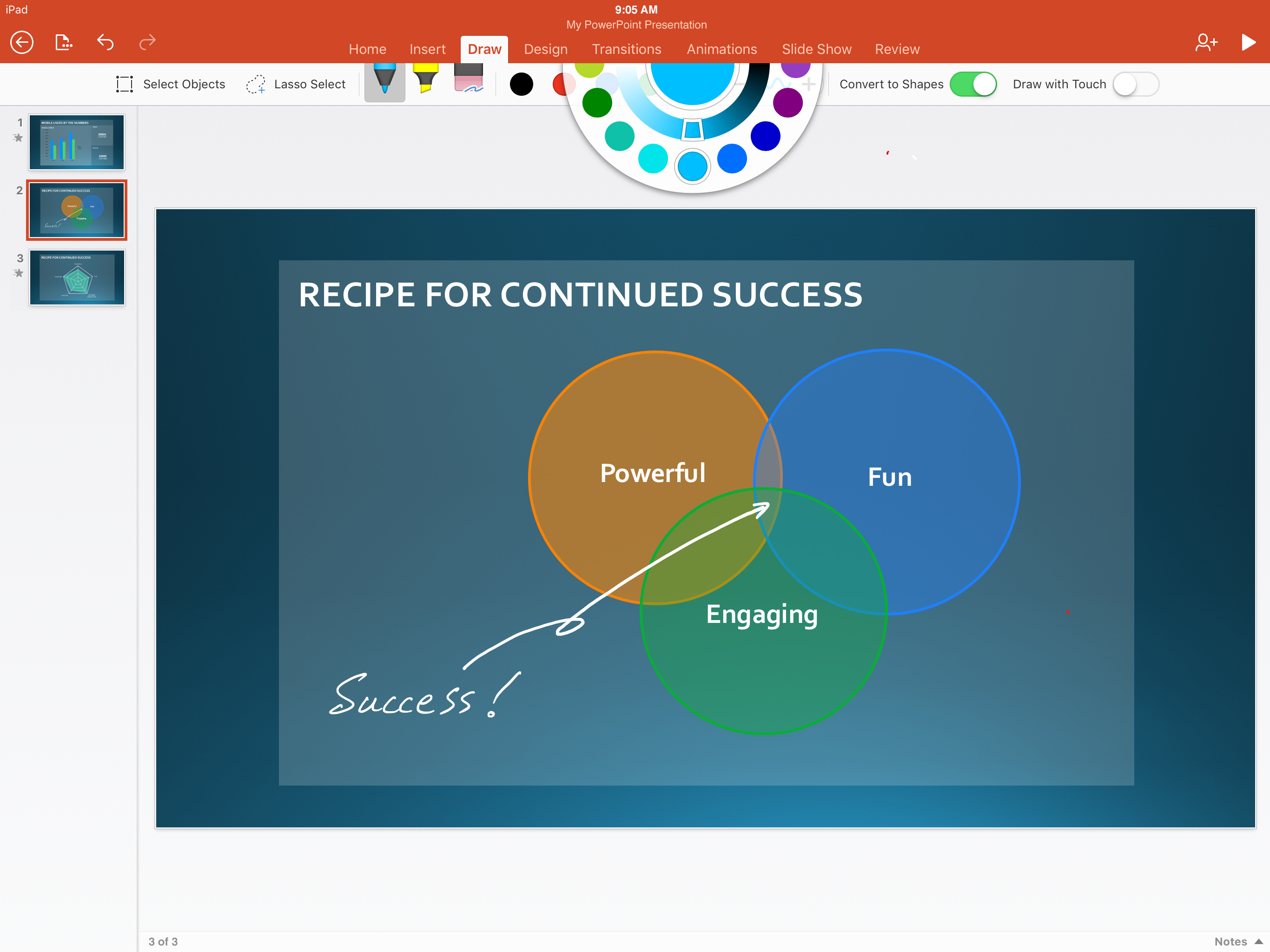 How To Make A Venn Diagram On Word New To Office 365 In Januarynew Inking Tools Collaboration