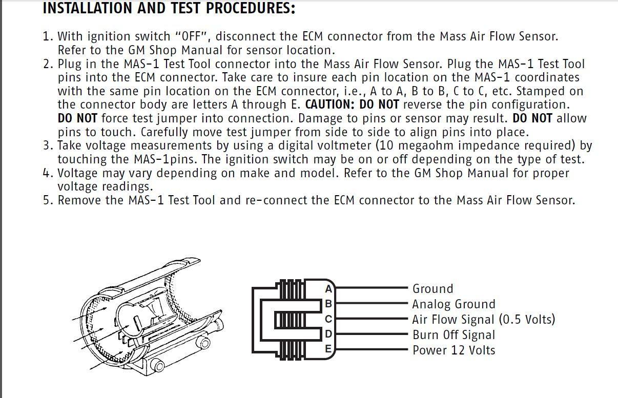 Mass Air Flow Sensor Wiring Diagram Wiring Diagram 8 1 Gm Mas Air Flow Wiring Library
