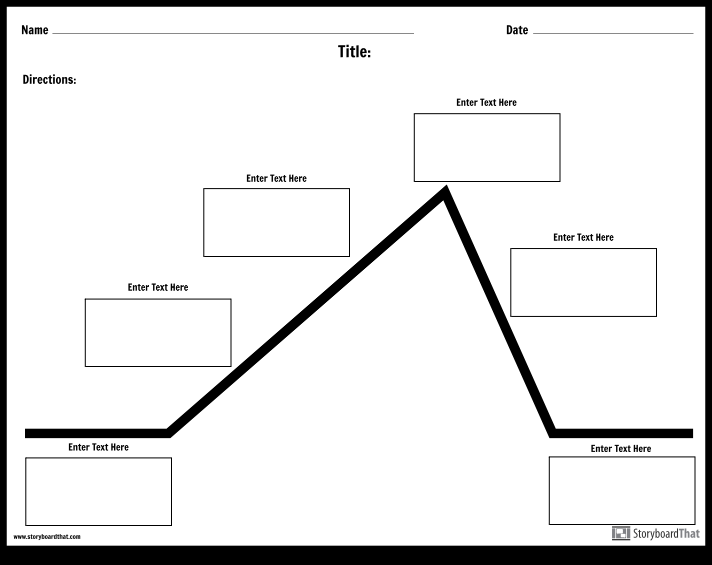 Plot Diagram Template Create A Plot Diagram Worksheet Plot Diagram Templates