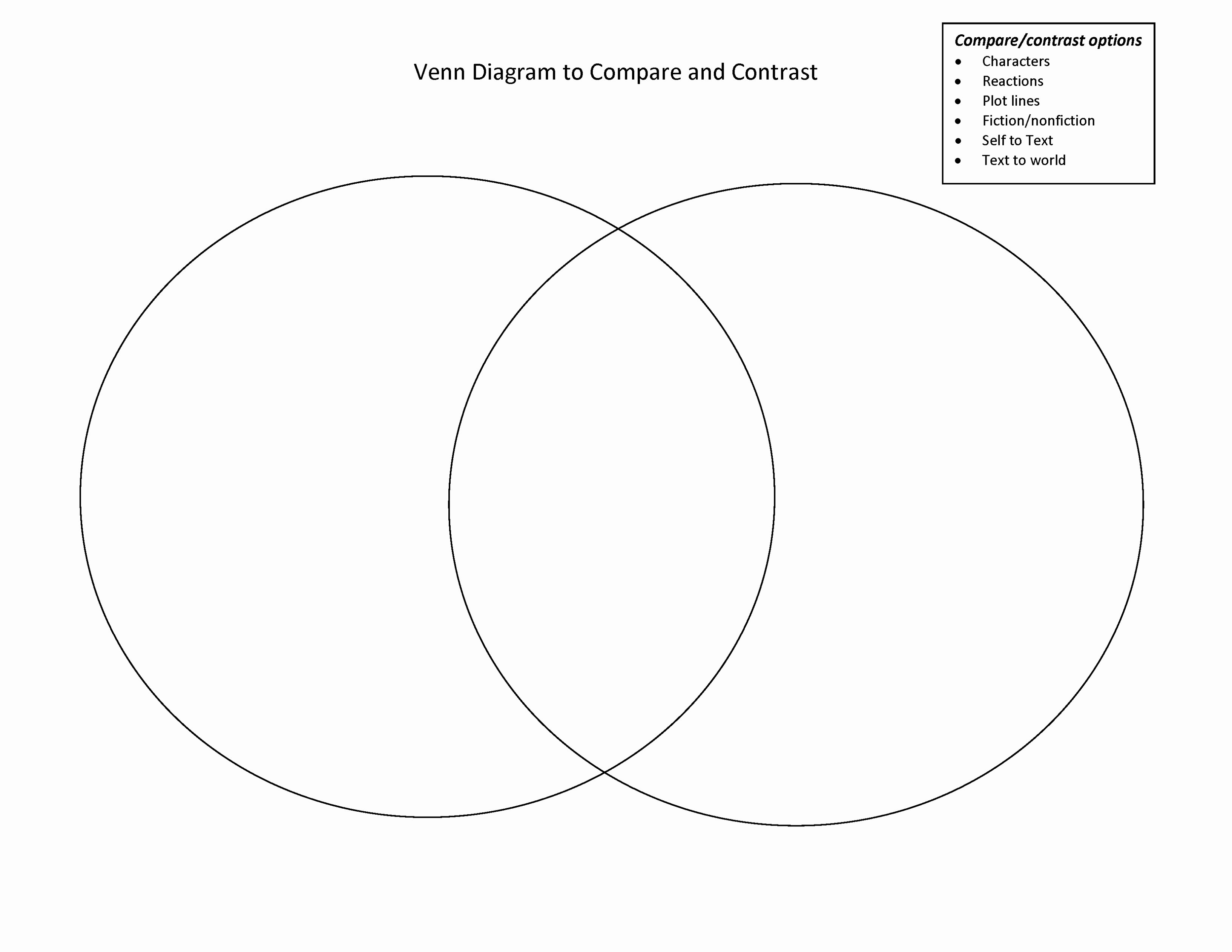 Printable Venn Diagram Venn Diagram In Word Luxury Venn Diagram Doc Barcalphee Junior
