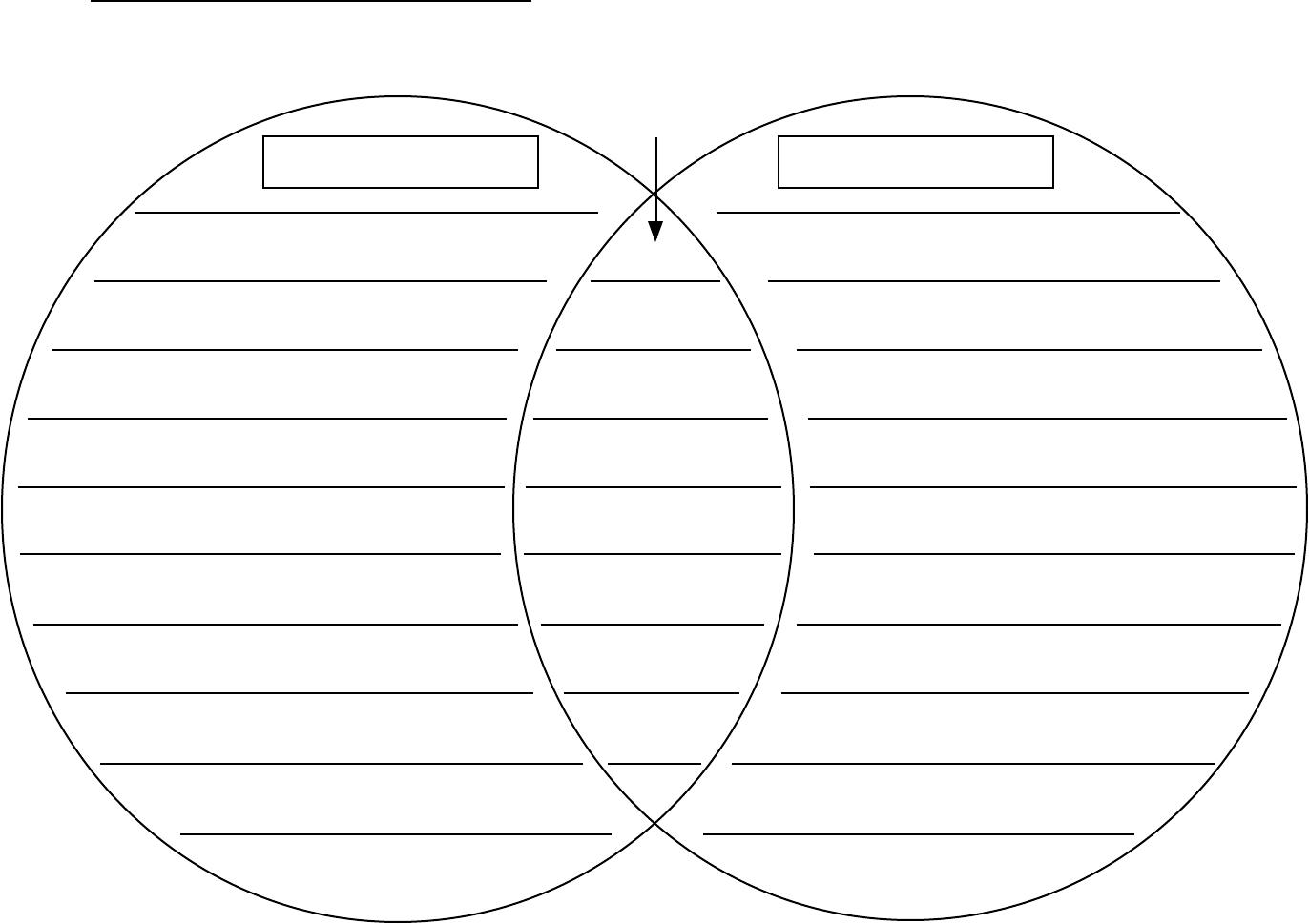 Printable Venn Diagram Venn Diagram Template Doc Templates For Everyone
