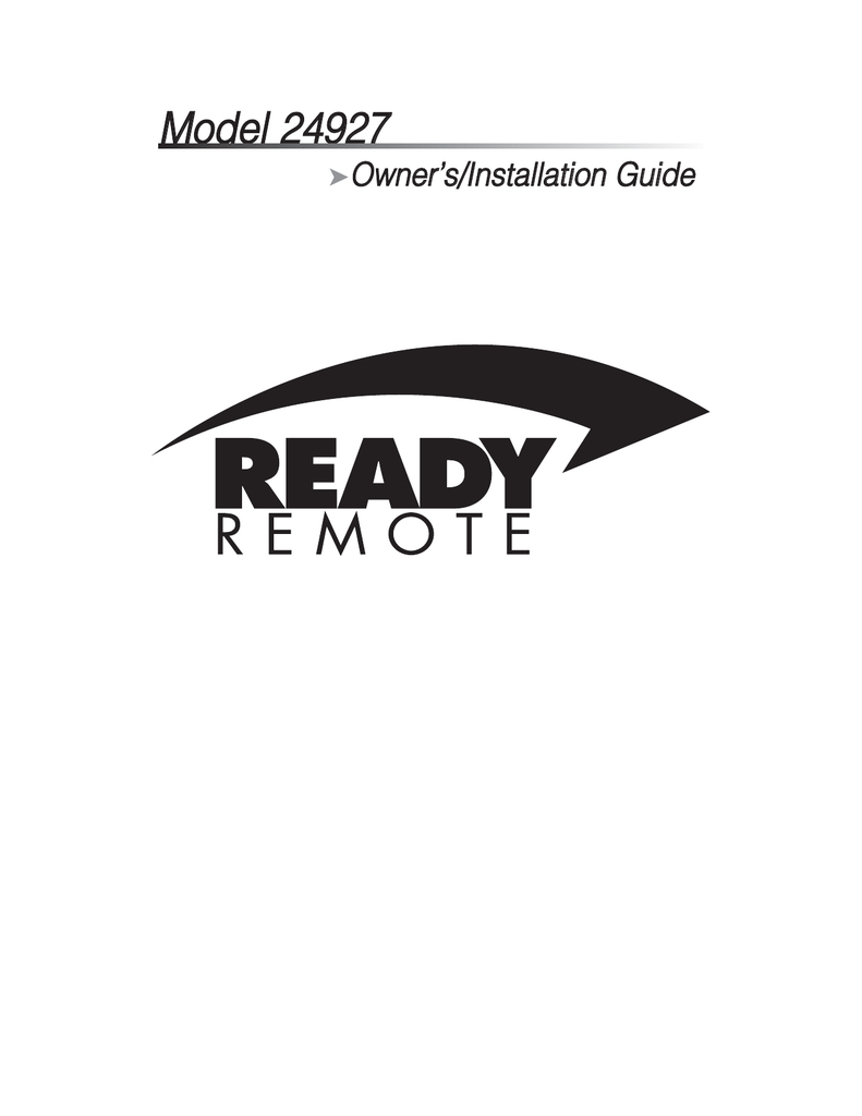 Ready Remote Wiring Diagram Ready Remote Wiring Diagram Machine Repair Manual