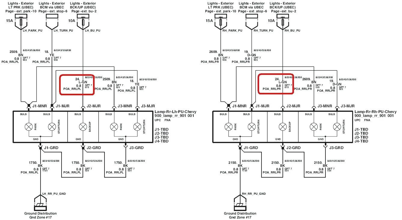 Trailer Light Wiring Diagram 1958 Chevy Tail Light Wiring Wiring Diagram Srconds