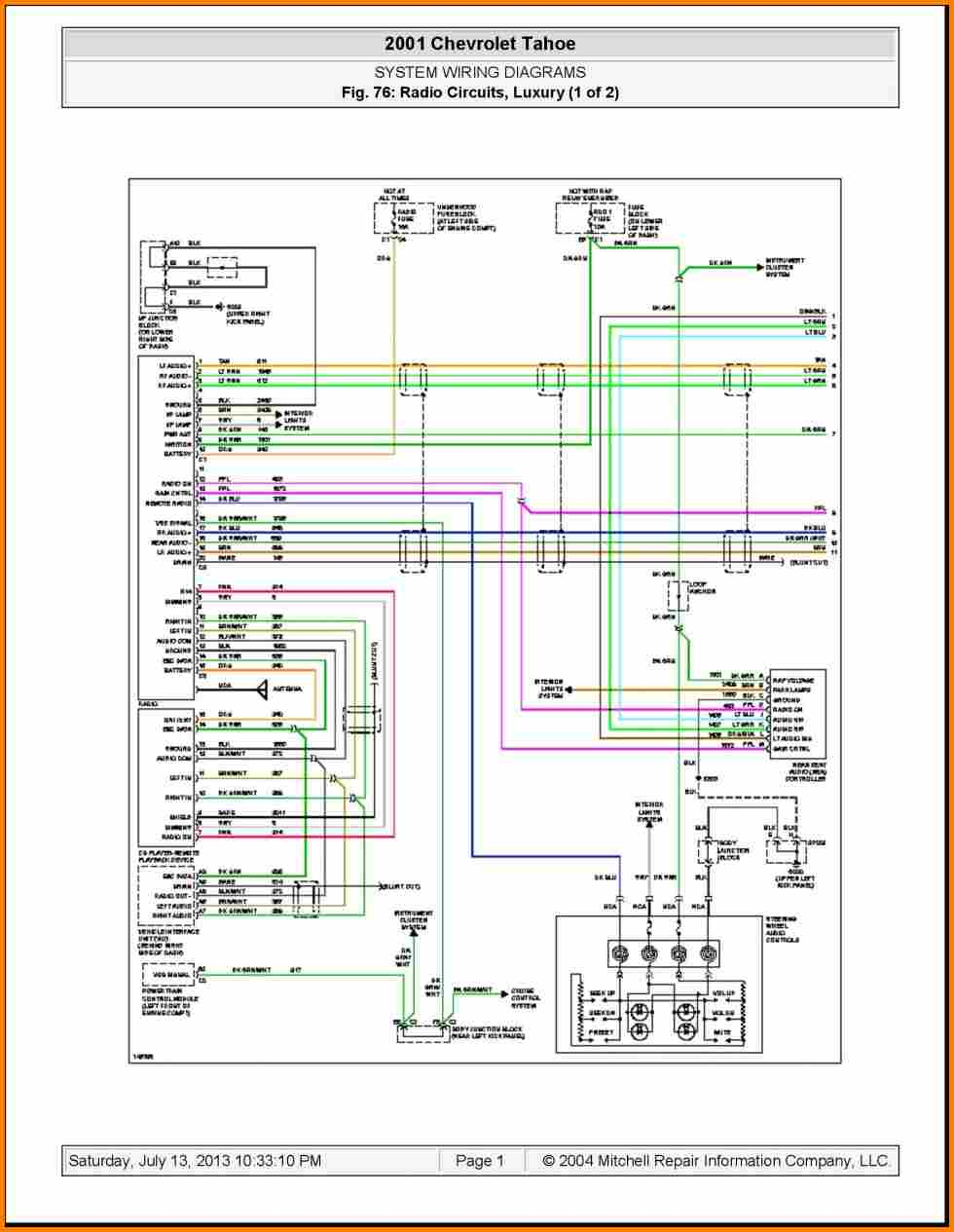 Trailer Light Wiring Diagram Chevy Silverado Tail Light Diagram Preview Wiring Diagram