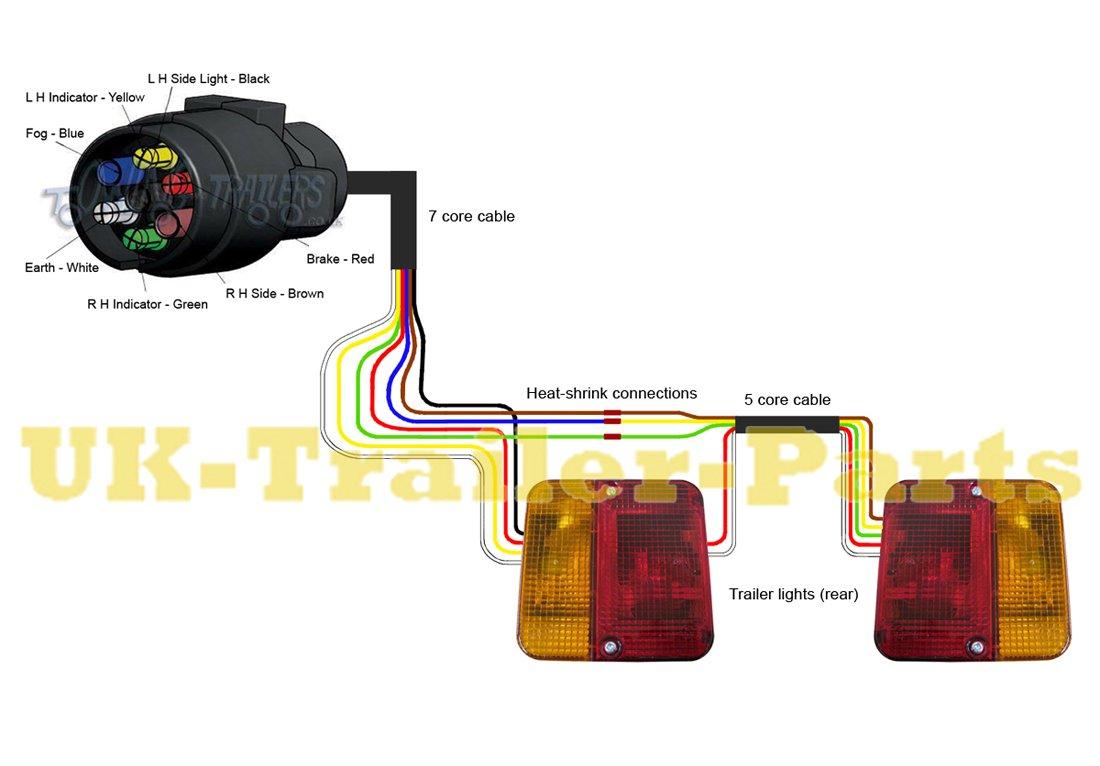 Trailer Light Wiring Diagram Led Trailer Tail Lights On Utility Trailer Tail Light Wiring