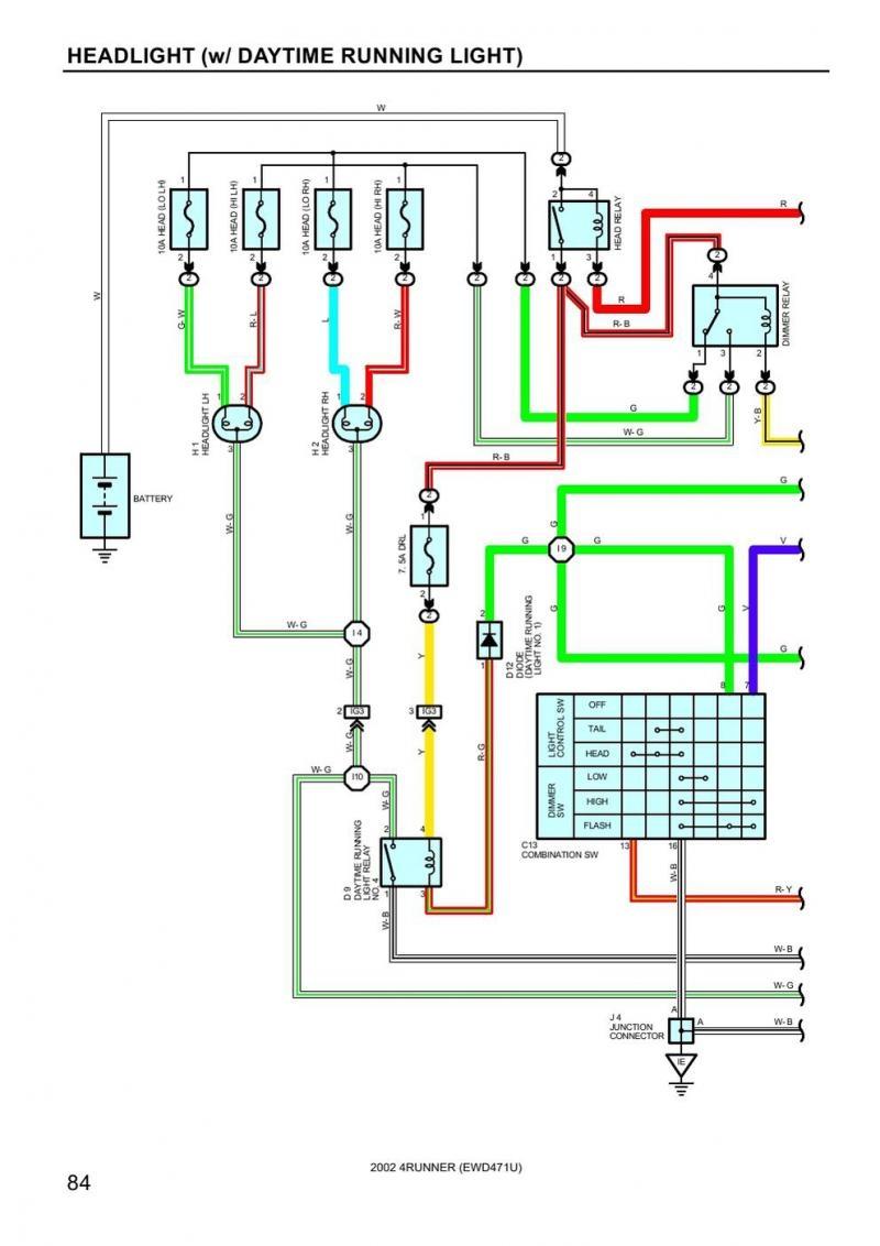 Trailer Light Wiring Diagram Toyota Trailer Light Wiring Wiring Diagram Bookmark