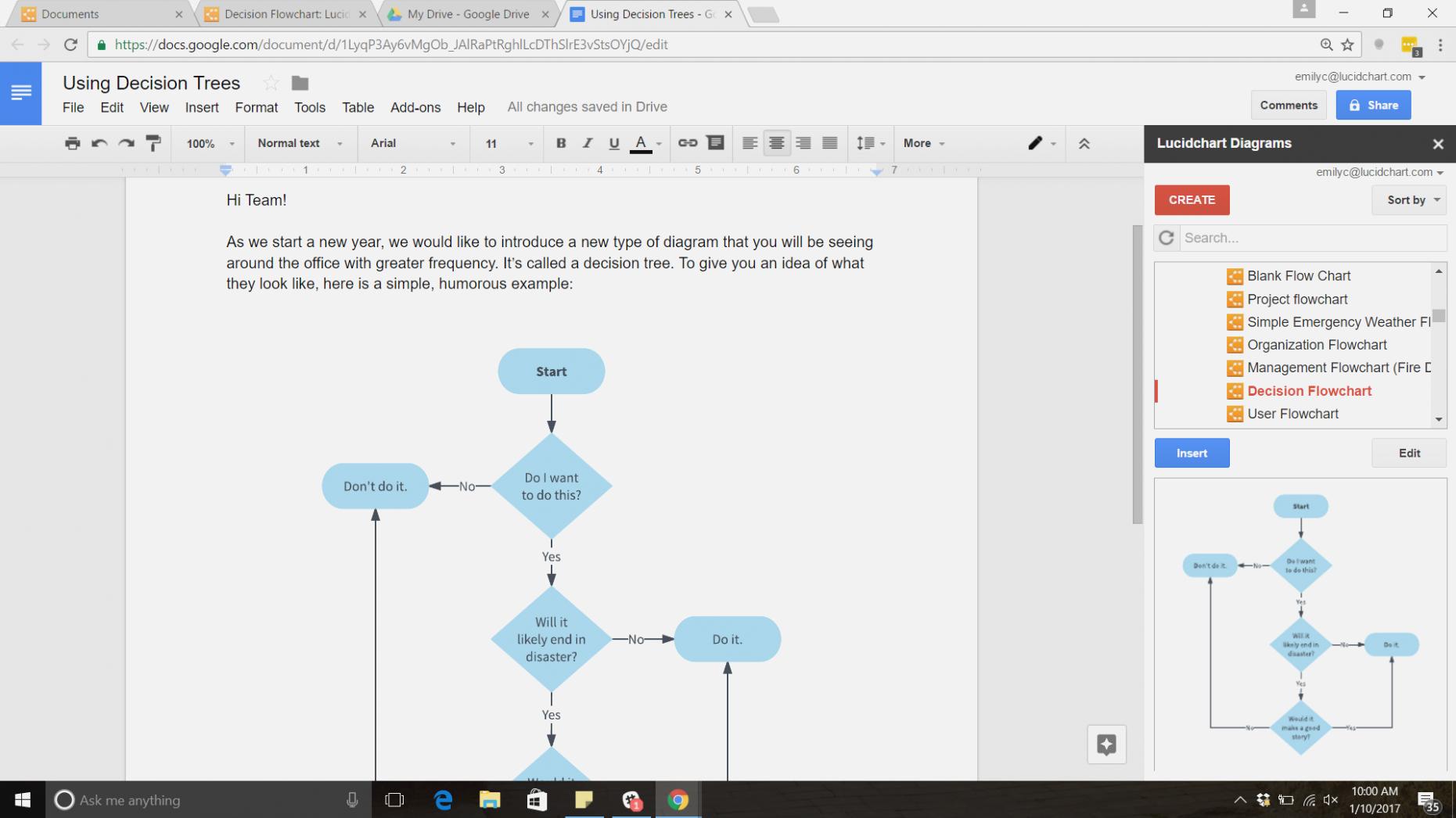 Tree Diagram Maker How To Make A Tree Diagram In Google Docs Lucidchart Blog