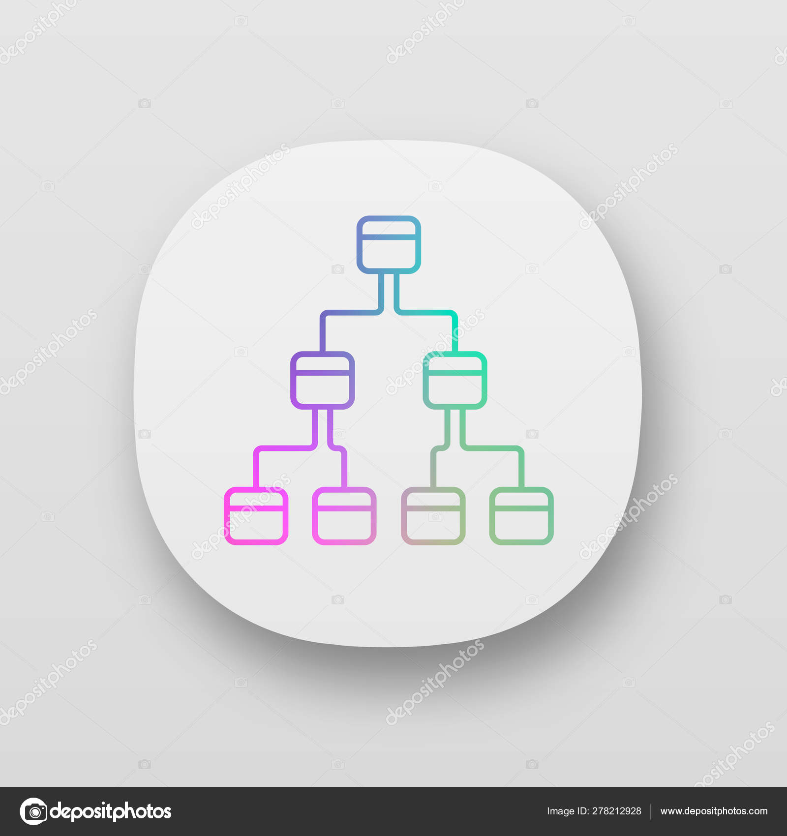 Tree Diagram Maker Tree Diagram App Icon 3 Space Ring Hierarchical System Node Link