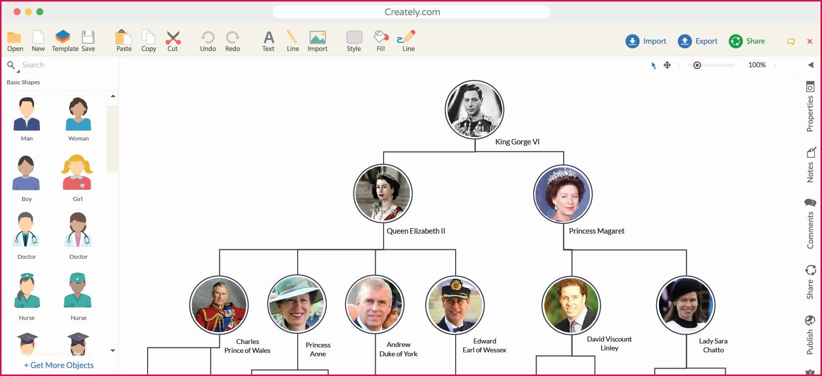 Tree Diagram Maker Tree Diagram Creator Create Your Own Tree Diagram Periodic Diagrams