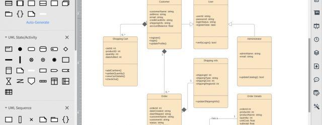 Uml Diagram Tool Online Uml Diagram Tool Lucidchart
