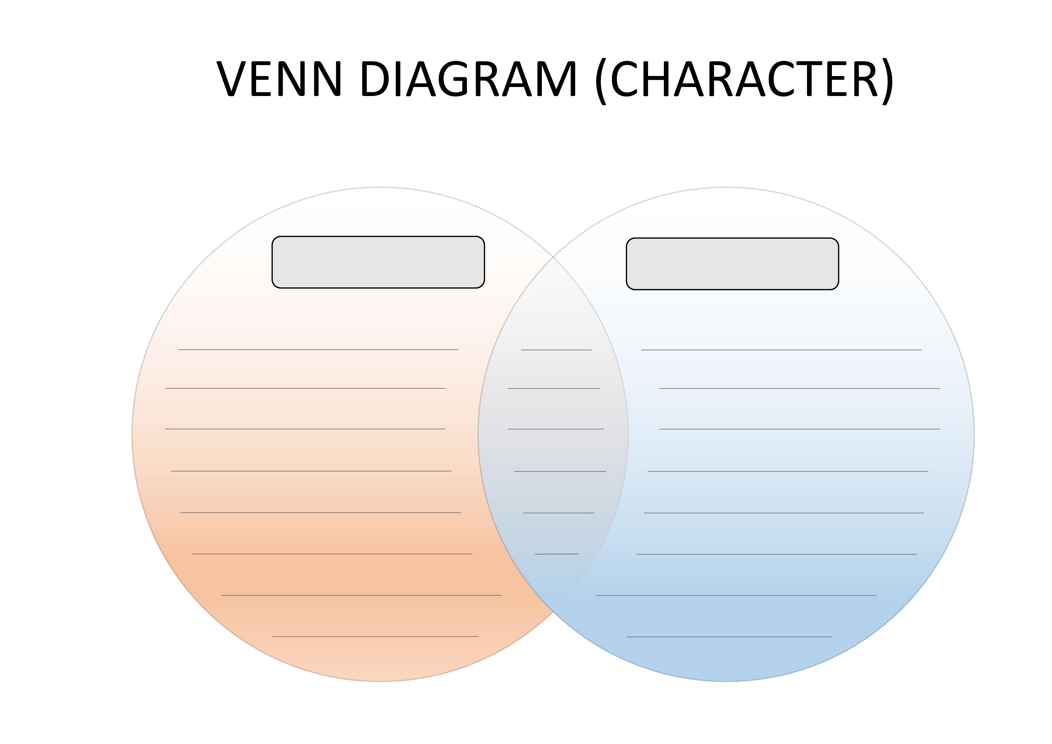 Venn Diagram Template Gratis Colored Venn Diagram Template