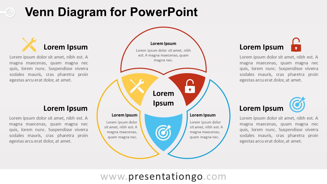 Venn Diagram Template Venn Diagram For Powerpoint Presentationgo