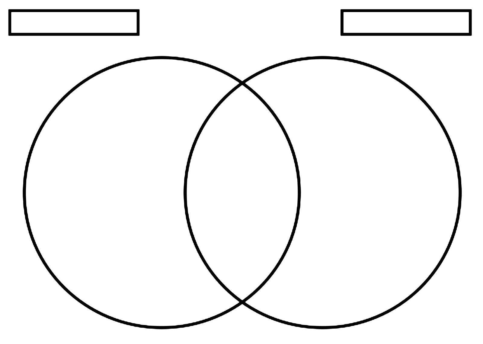 Venn Diagram Worksheet Fillable Venn Diagram Template Free Blank Venn Diagram Template
