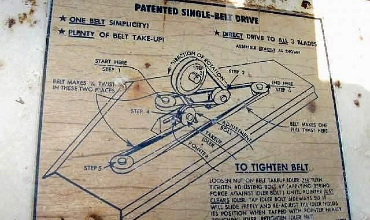 Woods Mower Parts Diagrams Belt Diagram Rm372