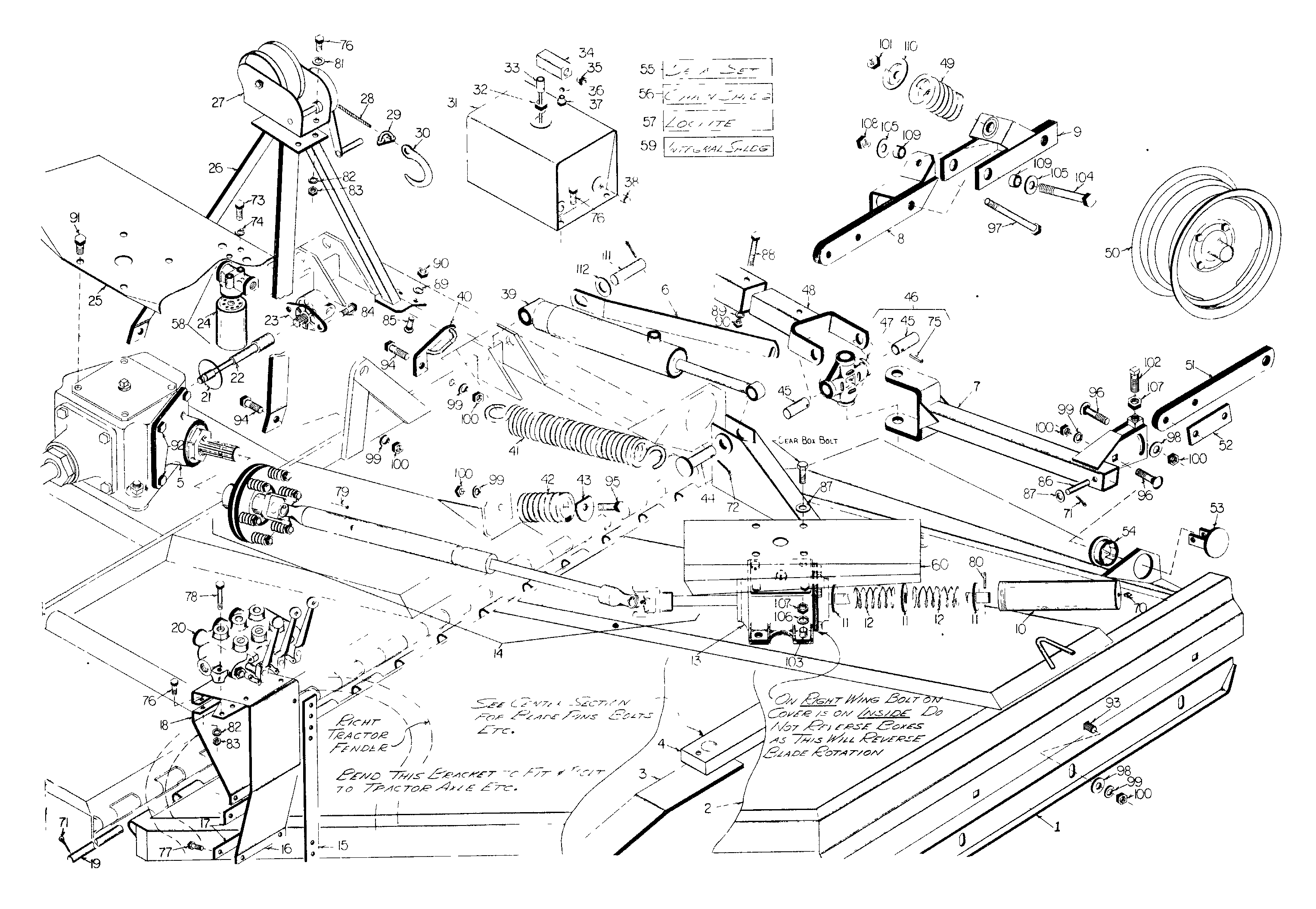 Woods Mower Parts Diagrams Woods 2126 Rotary Cutter Parts Diagram 1001 Best Wood Inspiration
