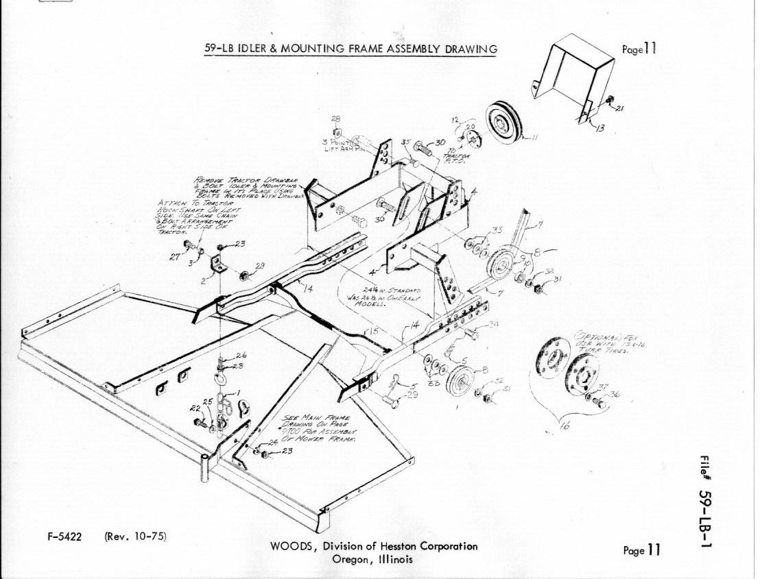 Woods Mower Parts Diagrams Woods 59 Lb Rotary Mower Manual