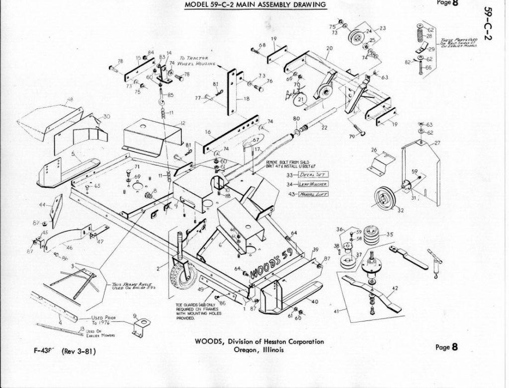Woods Mower Parts Diagrams Woods Mower Parts Wiring Diagram